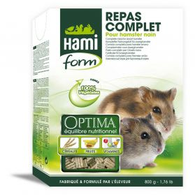 Hamiform - Repas Complet Optima pour Hamster Nain - 800g