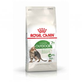 Royal Canin - Croquettes Outdoor 7+ pour Chat Senior - 2Kg