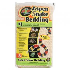 Zoomed - Litiere Snake Bedding pour Serpent Aspen - 8,8L