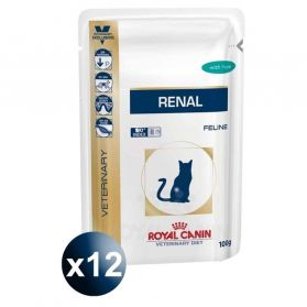 Royal Canin - Sachets Veterinary Diet Renal pour Chat - 12x85g