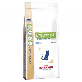 Royal Canin - Croquettes Veterinary Diet Urinary S/O Moderate Calorie pour Chat - 3,5Kg