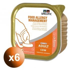 Specific - Food Allergy Management - Adult Chien -6x300g