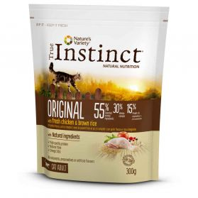 True Instinct - Croquettes Original Adult au Poulet pour Chat - 300g