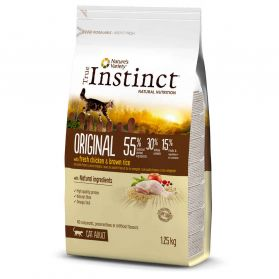 True Instinct - Croquettes Original Adult au Poulet pour Chat - 1,25Kg