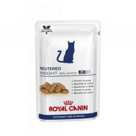Royal Canin - Sachets Veterinary Care Neutered Weight Balance pour Chat - 12x100g
