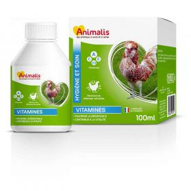 Animalis - Aliment Vitamines pour Basse Cour - 100ml