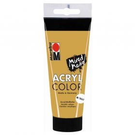 Marabu - Tube AcryColor Couleur Or - 100ml