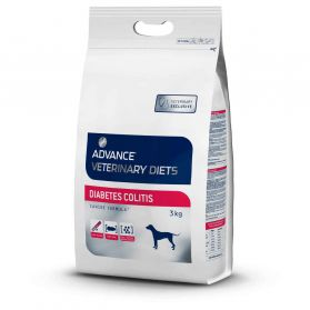 Advance Diet - Croquettes Diabetes Colitis pour Chien - 3Kg