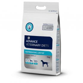 Advance Diet - Croquettes Gastroenteric Low Fat pour Chien - 3Kg