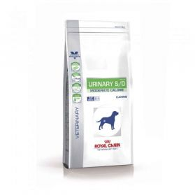 Royal Canin - Croquettes Veterinary Diet Urinary S/O Moderate Calorie pour Chien - 1,5Kg