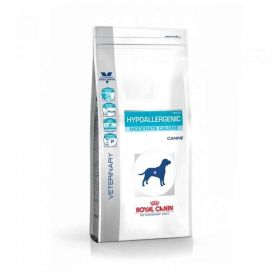 Royal Canin - Croquettes Veterinary Diet Hypoallergenic Moderate Calorie pour Chien - 1,5Kg