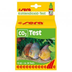 Sera - Test de Dioxyde de Carbone CO2 Test pour Aquarium - 15ml