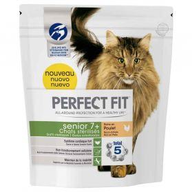 Perfect Fit - Croquettes Senior 7+ au Poulet pour Chat Senior Stérilisé - 1,4Kg