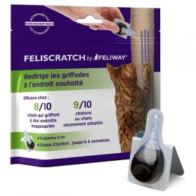 Feliscratch by Feliway - Pipettes Éducation Anti-griffades pour Chat - x9
