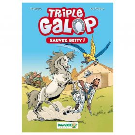 Bamboo Édition - Poche Triple Galop, Sauvez Betty - Tome 5