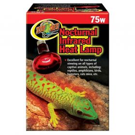 Zoomed - Lampe Chauffante Infrarouge pour Reptiles - 75W