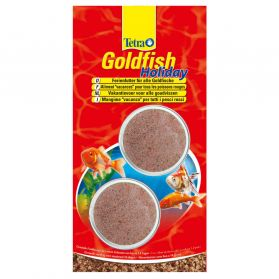Tetra - Aliment Goldfish Holiday en Bloc de 14J pour Poissons Rouges