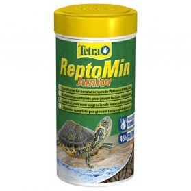 Tetra - Aliment Complet ReptoMin Junior pour Tortues d'Eau - 250ml