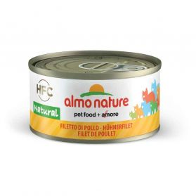 Almo Nature - Boîte Natural au Filet de Poulet pour Chat - 70g