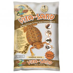 Zoomed - Sable Vita-Sand Blanc pour Reptiles - 4,5Kg