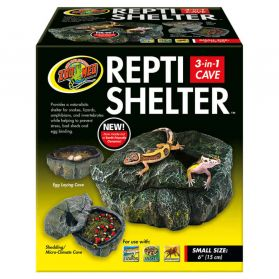 Zoomed - Grotte Repti Shelter pour Reptiles - S