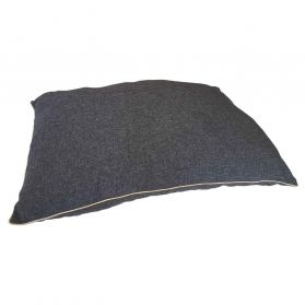 Agrobiothers - Coussin Sisal Passepoil pour Chiens - Noir