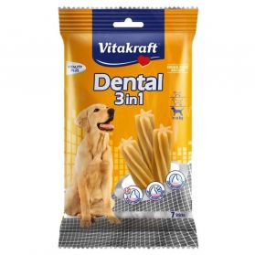 Vitakraft - Friandises Sticks Dental 3in1 pour Chiens - 180g