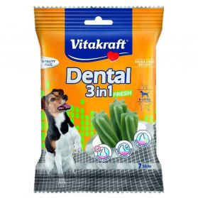 Vitakraft - Friandises Dental 3in1 Fresh pour Chiens - 120g