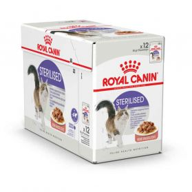 Royal Canin - Sachets Sterilised en Sauce pour Chat - 12x85g