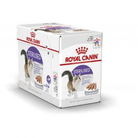 Royal Canin - Sachets Sterilised en Mousse pour Chat - 12x85g