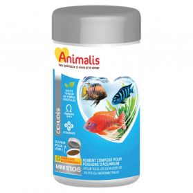 Animalis - Aliments Mini Sticks pour Cichlidés - 250ml