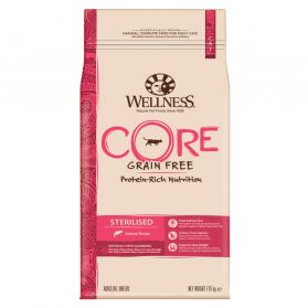 Wellness CORE - Croquettes Sterilised Saumon pour Chat - 1,75Kg