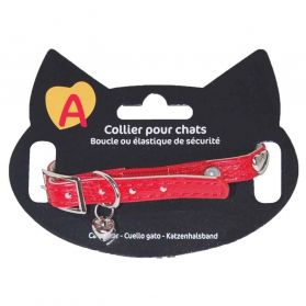 Animalis - Collier Original pour Chat - Rouge
