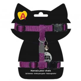 Animalis - Harnais Basic pour Chat - Violet