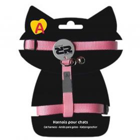 Animalis - Harnais Basic pour Chat - Rose