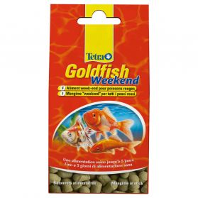 Tetra - Aliment Goldfish Weekend en Sticks de 5J pour Poissons Rouges