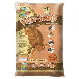 Zoomed - Sable Vita-Sand Outback Orange pour Reptiles - 4,5Kg