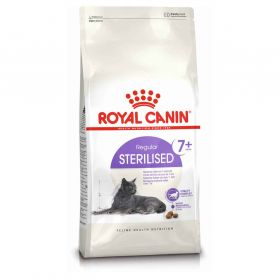 Royal Canin - Croquettes Sterilised 7+ pour Chat Senior - 10Kg