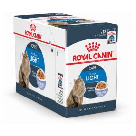 Royal Canin - Sachets Ultra Light en Gelée pour Chat - 12x85g