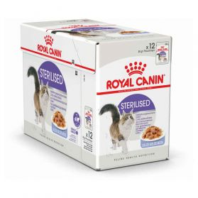 Royal Canin - Sachets Sterilised en Gelée pour Chat - 12x85g