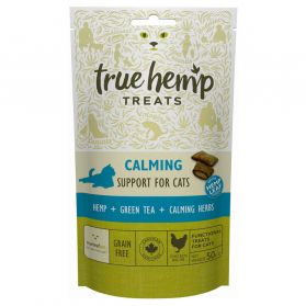 True Hemp - Friandises Calming pour Chat - 50g