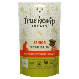 True Hemp - Friandises Senior pour Chat - 50g