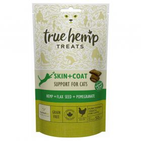 True Hemp - Friandises Skin + Coat pour Chat - 50g