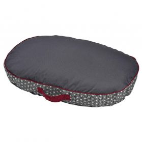 Bobby - Coussin ASANOHA anthracite S