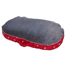 Bobby - Coussin IDYLLE rouge L