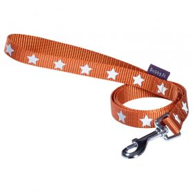 Bobby - Laisse MIDNIGHT orange L