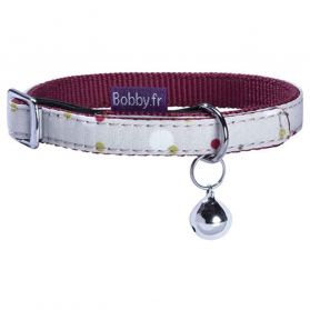 Bobby - Collier Chat DOTS beige TU