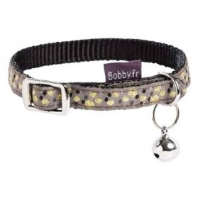 Bobby - Collier Chat Chamane noir XS