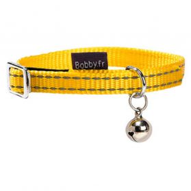 Bobby - Collier Chat Safe jaune 10