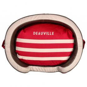 Bobby - Corbeille Deauville rouge XS